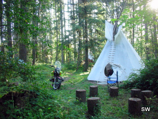 Tipi Village Retreat Sacagawea Tipi